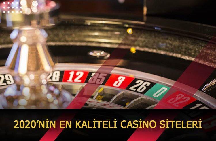 2020'nin En Kaliteli Casino Siteleri