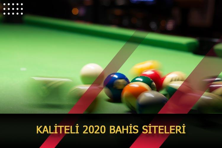 Kaliteli 2020 Bahis Siteleri