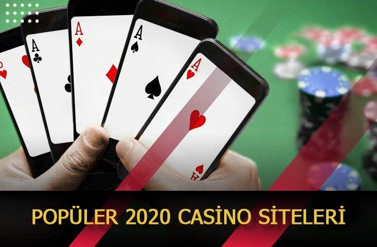 Popüler 2020 Casino Siteleri